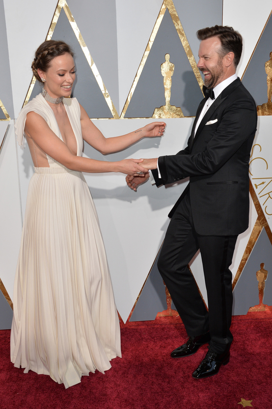 Olivia Wilde Jason Sudeikis adorable dad