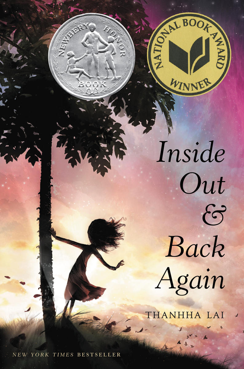 Inside Out and Back Again Book