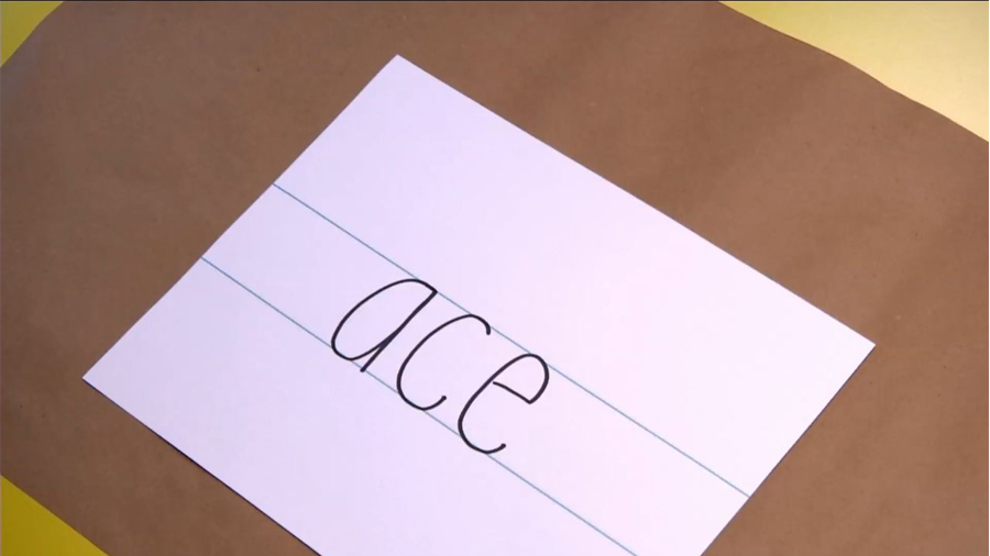 Handwriting: Learning Low-Case Letters