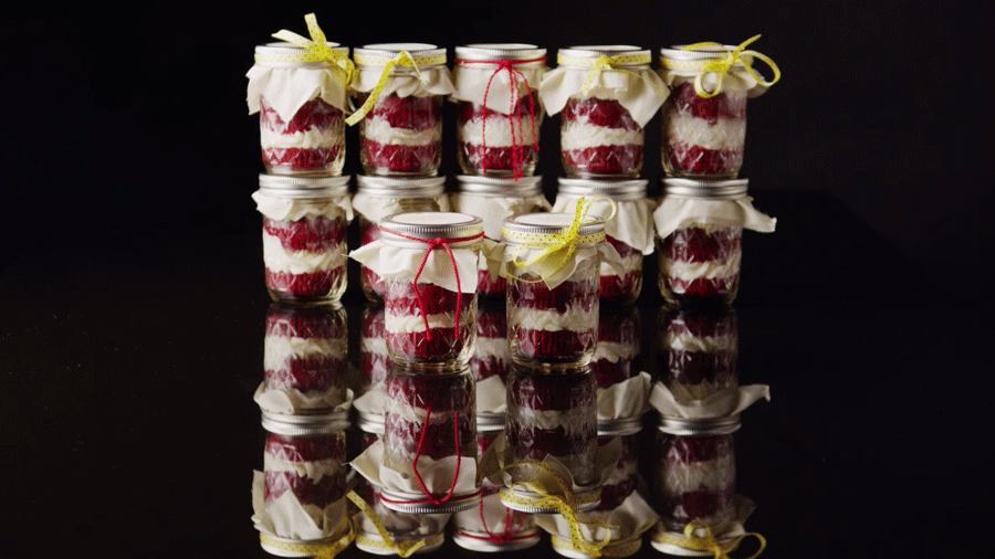 Baby Shower Desserts: Cupcakes in a Jar