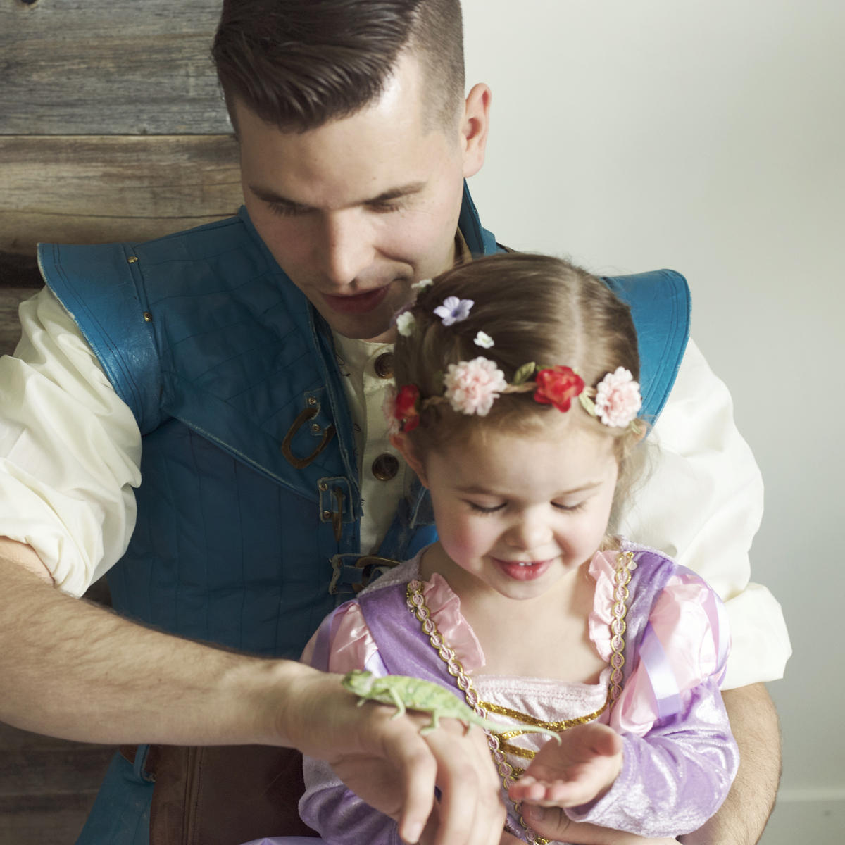 Meet the Daddy-Daughter Duo Behind Those Disney-Inspired Music Videos