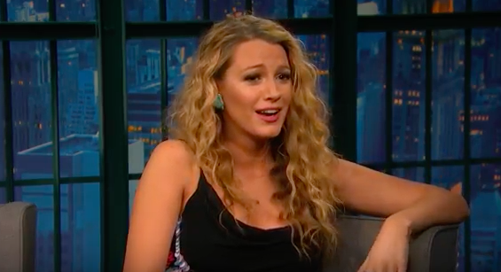 blake lively on seth meyers