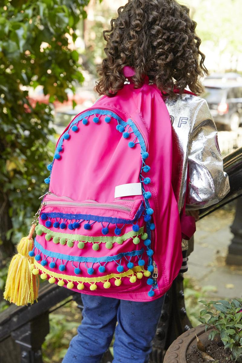 Pom-Pom Party Backpack