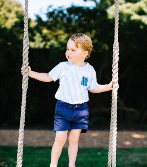 prince george turns 3