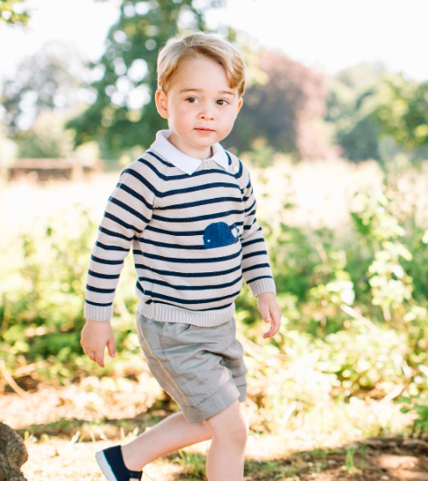prince george's third birthday photograph