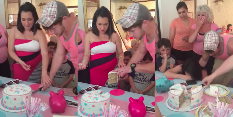 prank gender reveal