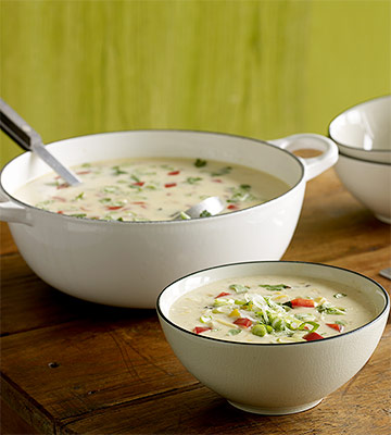 Potluck Corn Chowder recipe image
