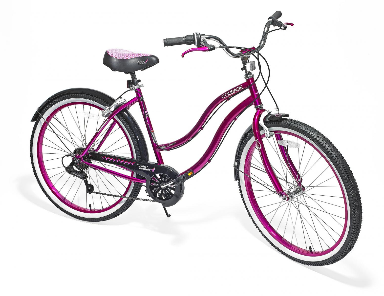 Charitable Giving Pink Bike