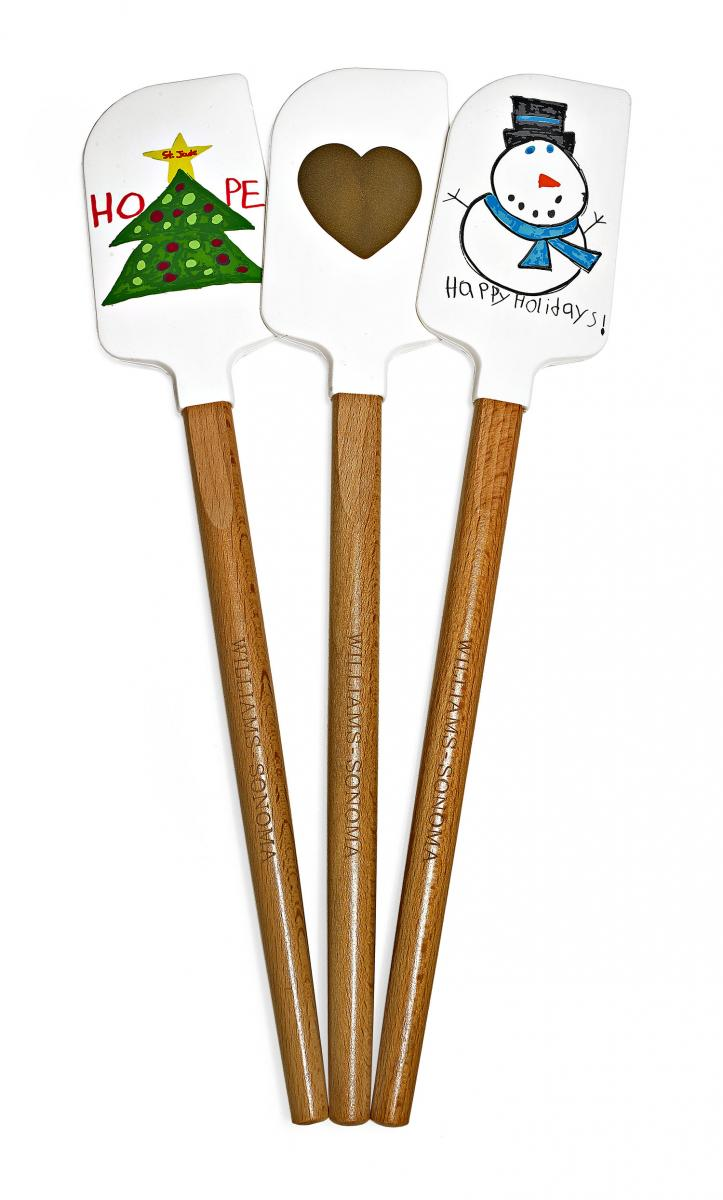 Charitable Giving Festive Spatulas