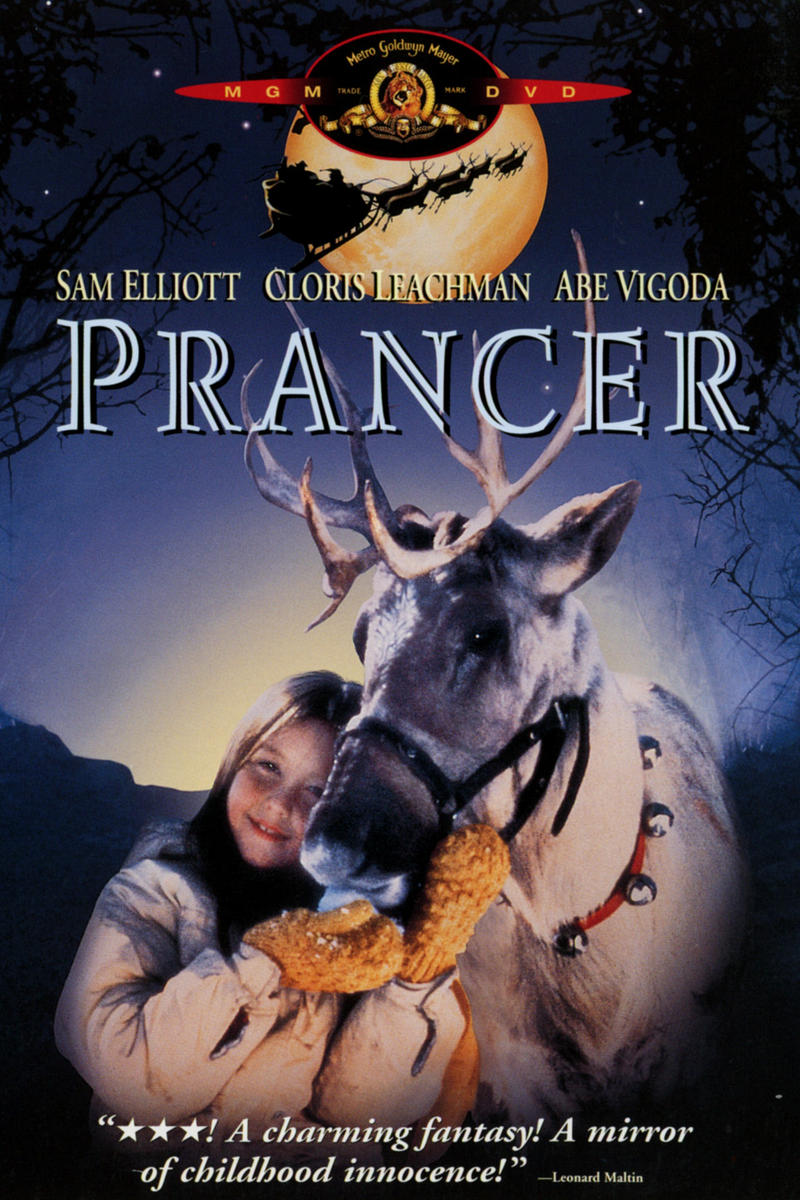 Prancer Movie Poster 1989