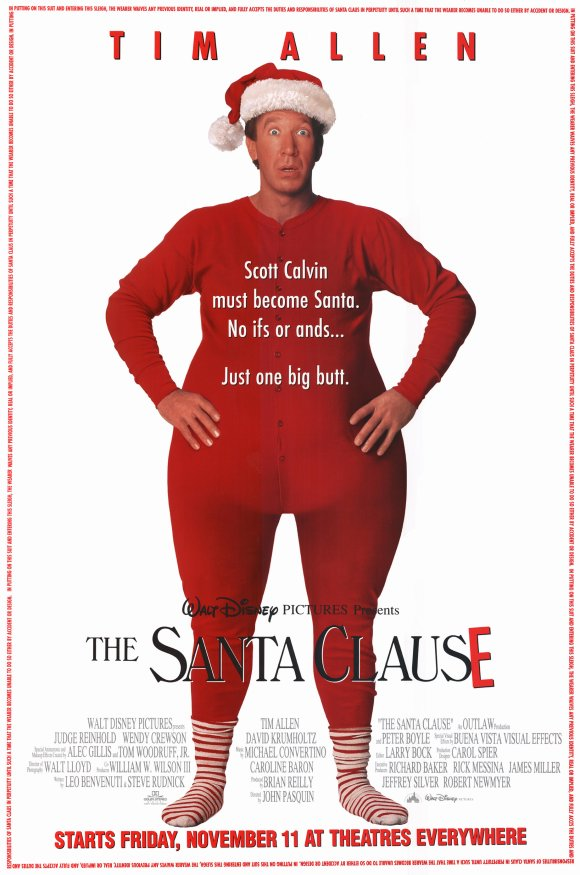 The Santa Clause Movie Poster 1994