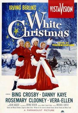 White Christmas Movie Poster 1954