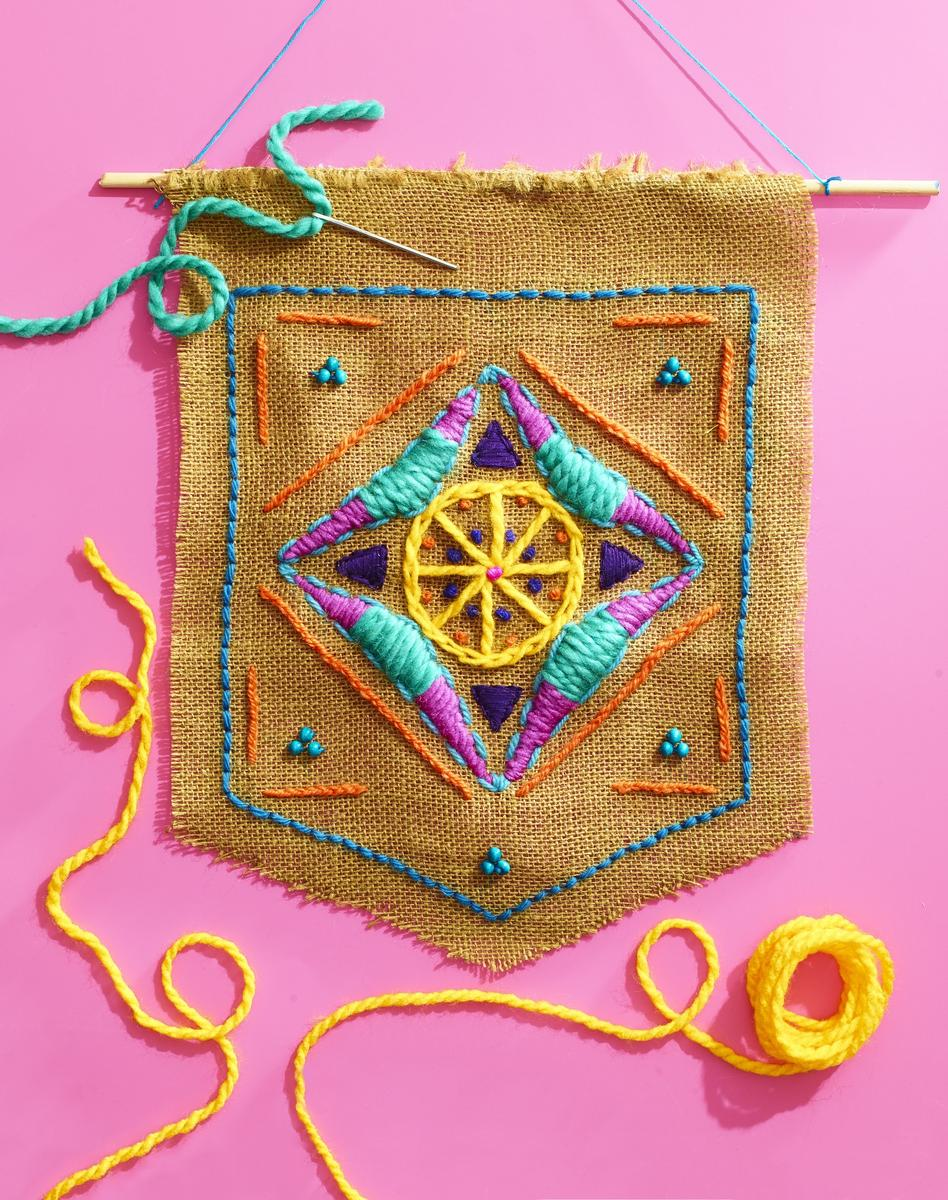 Sew Fun Boho Wall Hanging