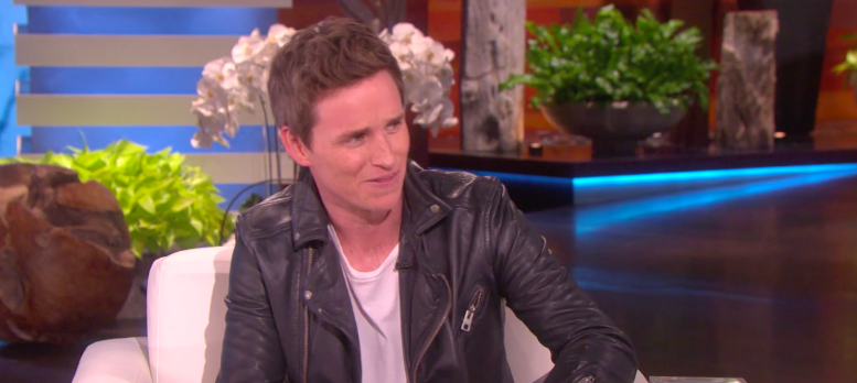 eddie redmayne on no sleep