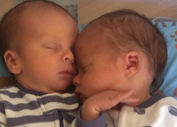 twins born daylight saving time