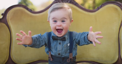 Toddler with Down Syndrome Rejected by Talent Agency Lands Modeling
