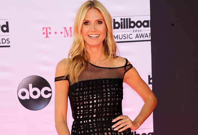 heidi klum 2016 at billboard awards