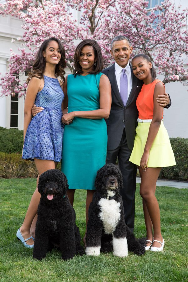 President Obama And Family Easter 2016