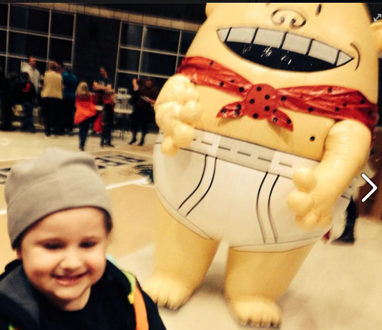 e with captain underpants
