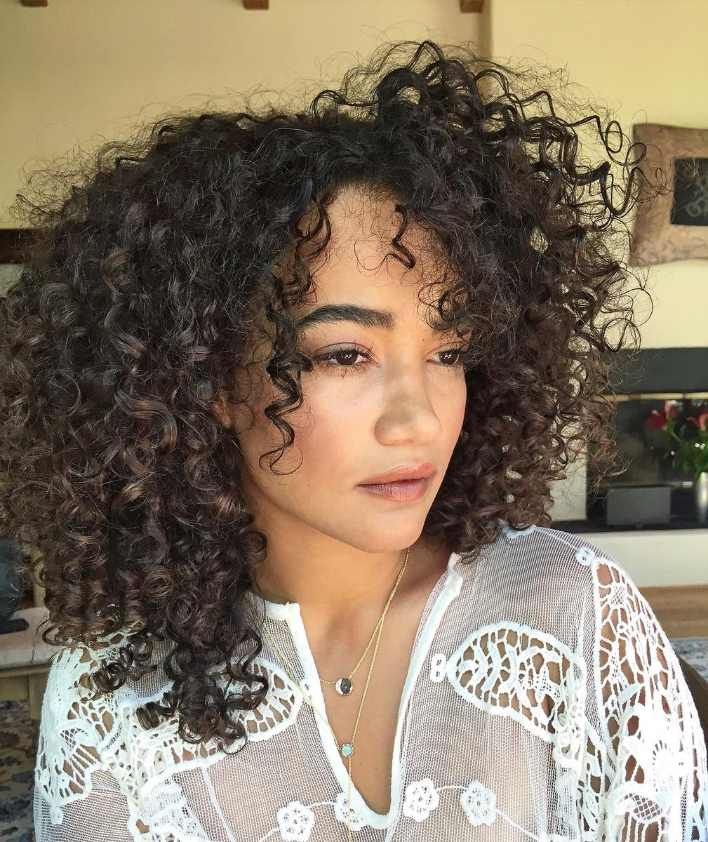 Instagram Beauty Royal Flush Rose Glow Curly Hair