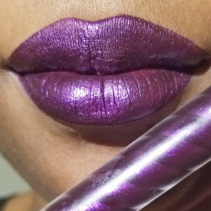 Instagram Beauty Lush Lips Statement Lips Purple Lipstick