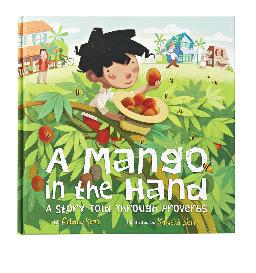 A Mango in the Hand Bilingual Book