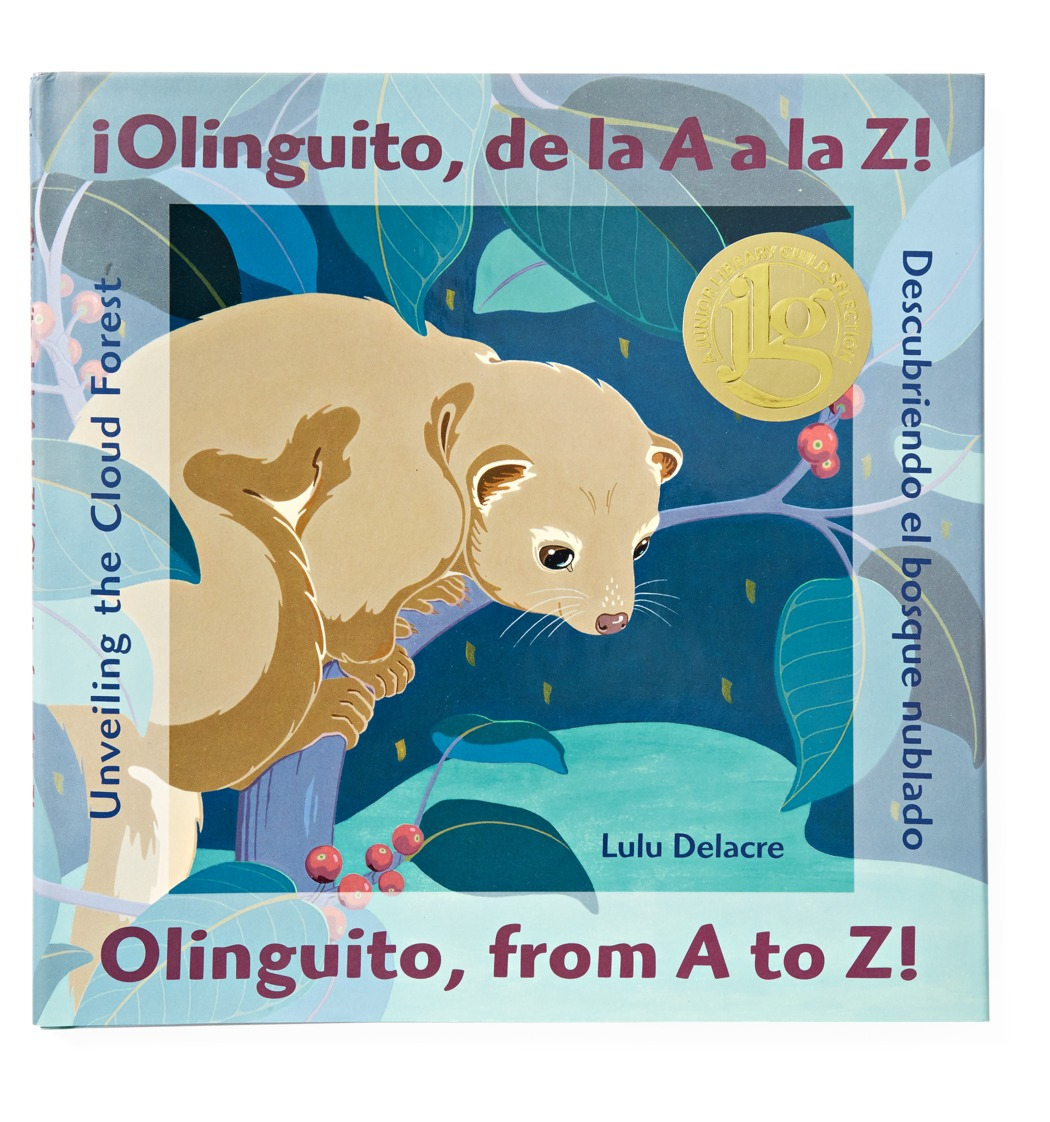 Olinguito from A to Z Bilingual Book