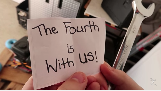 the fourth is with us