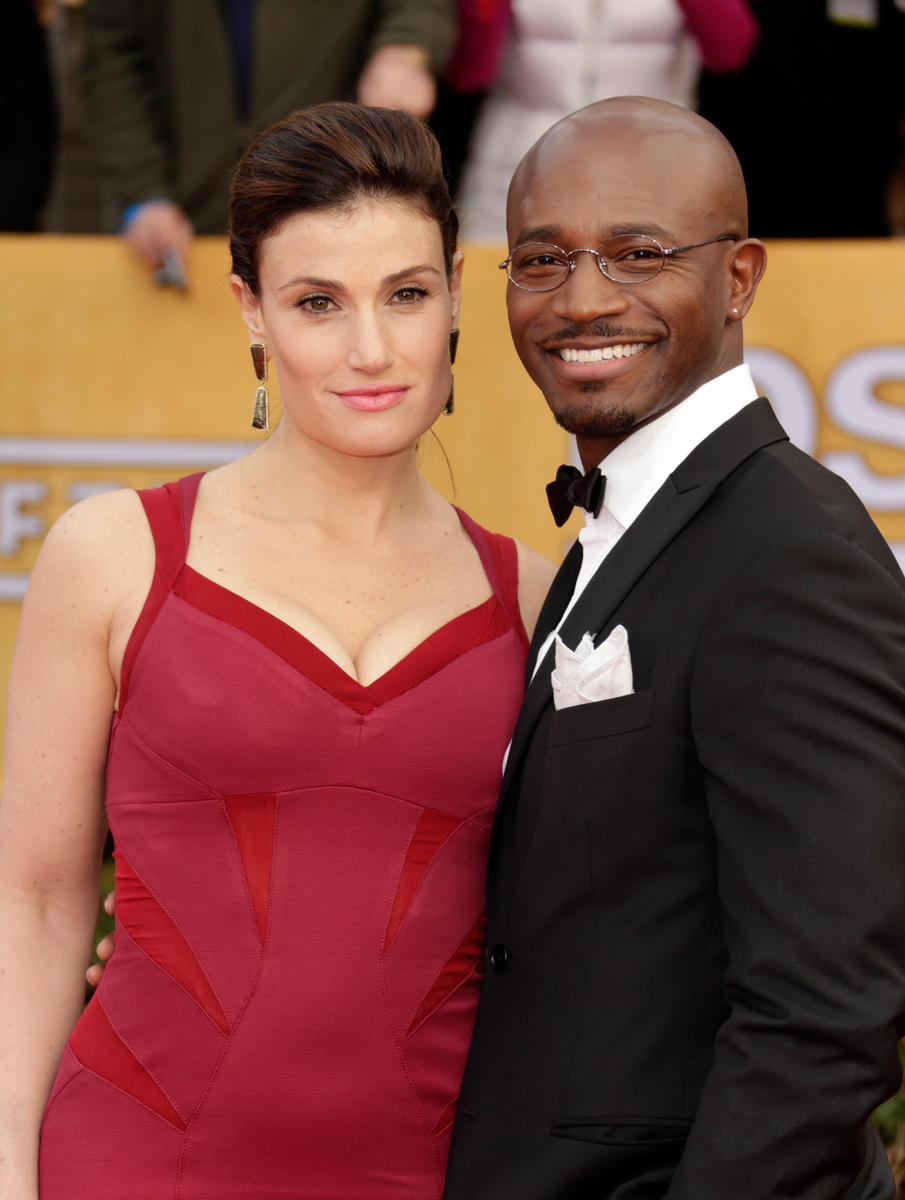 Idina Menzel and Taye Diggs coparenting