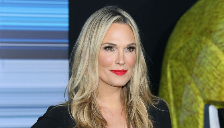Molly Sims at Power Rangers premiere