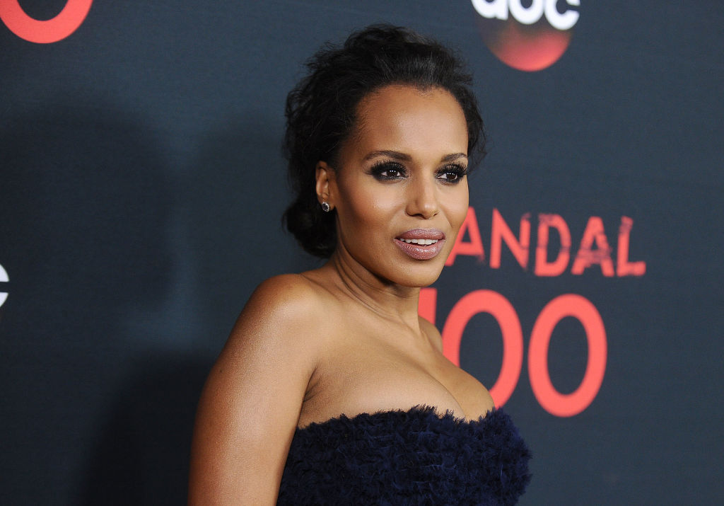 Kerry Washington Scandal 100th episode celebration