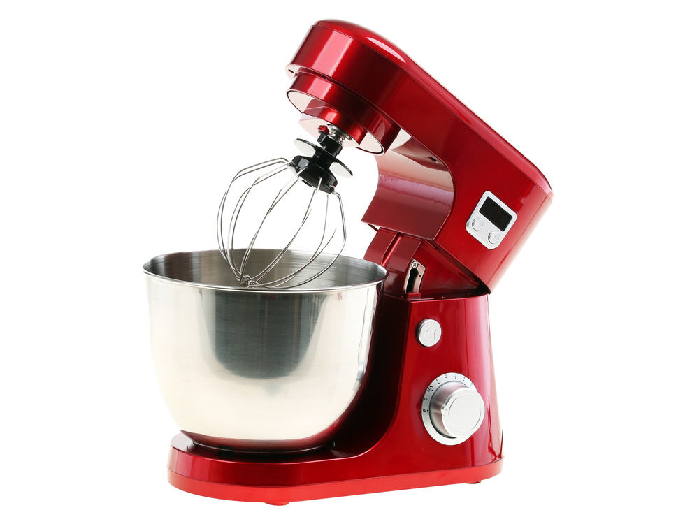Red Electric Stand Mixer