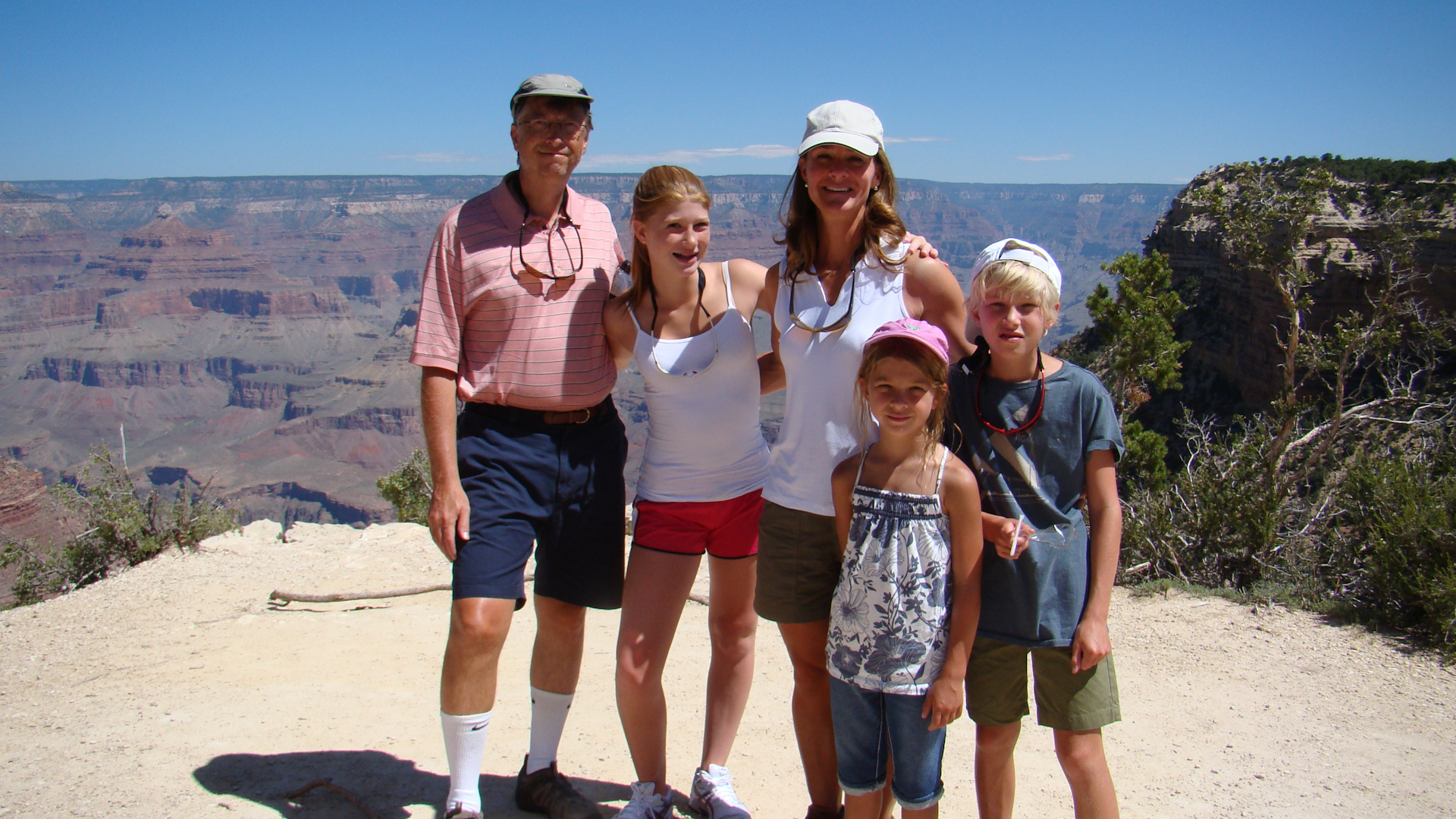 Melinda Gates Grand Canyon