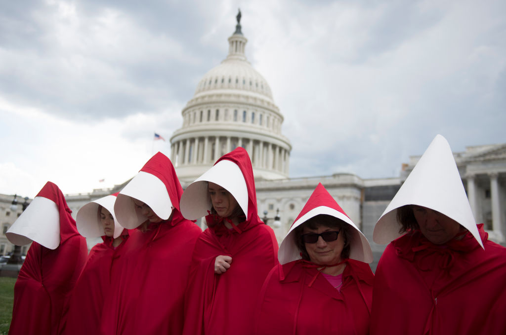 Handmaids Protest Capitol
