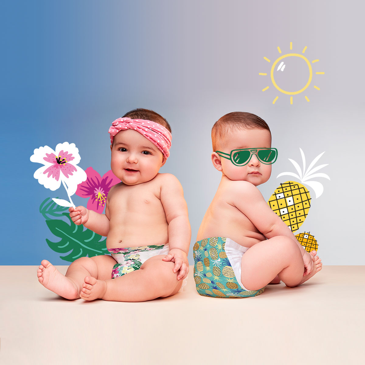 Honest Company Summer Prints Diapers 7