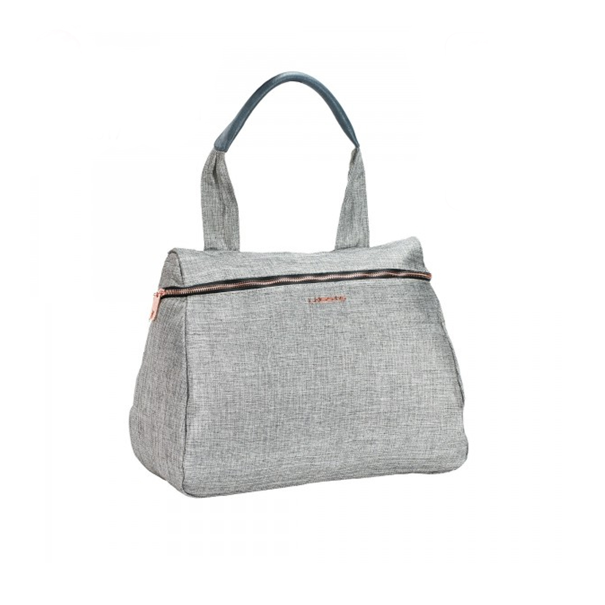 Gray Glam Rosie Diaper Bag with sparkling features