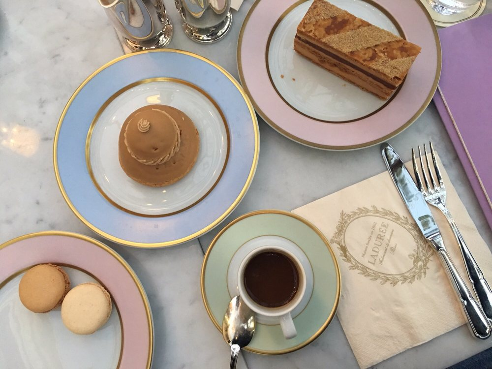 Ladurée at The Grove Tea Time