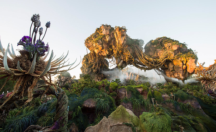 pandora's floating mountains.