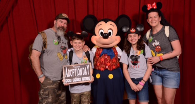 mickey mouse adoption