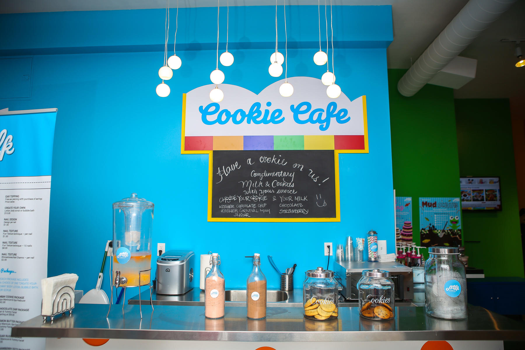 Milk & Cookies Kids Spa and Salon in New York City