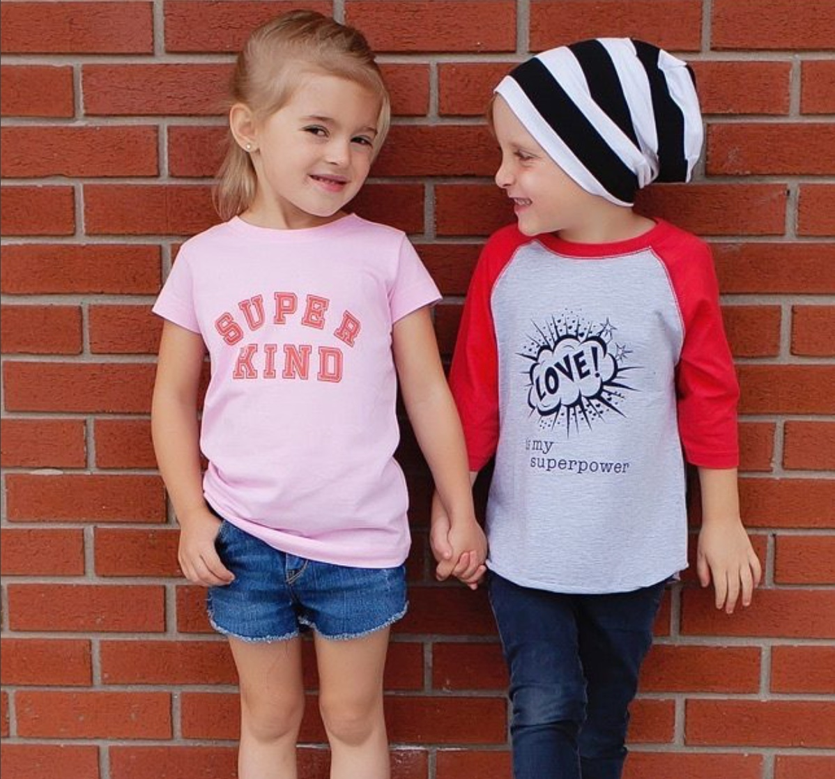 Empowering T-Shirts for Boys and GIrls