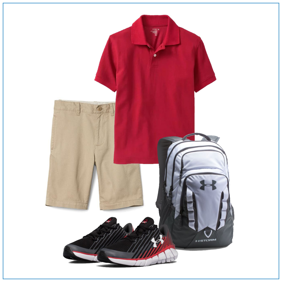 Boys' Back-to-School Outfit Uniforms