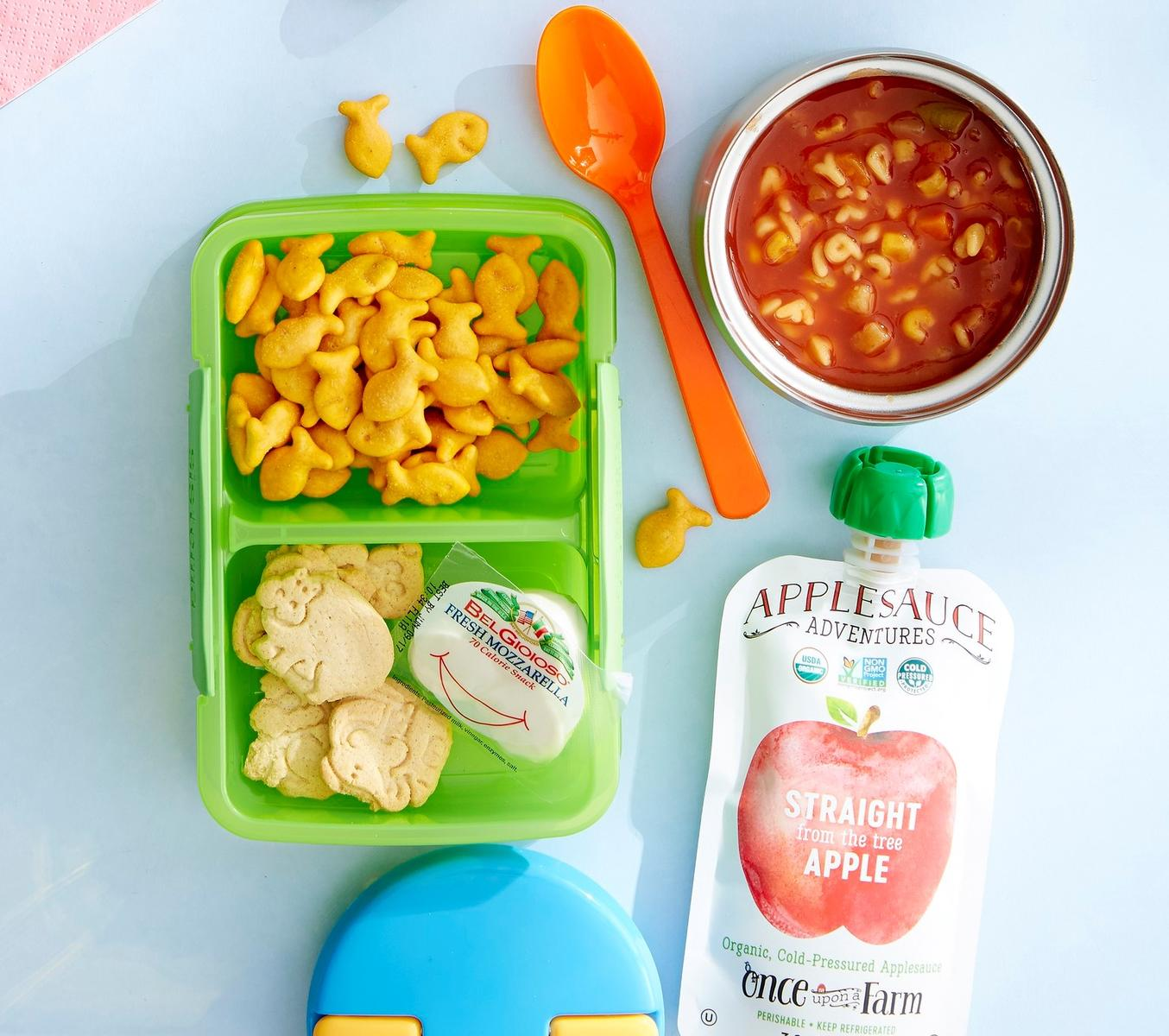 Packaged Lunches Kiddie Comfort