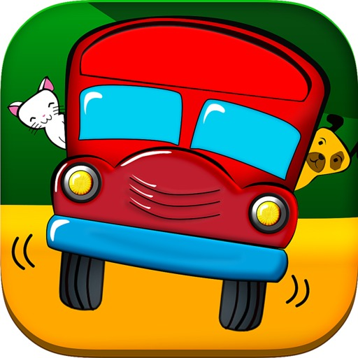 Spanish School Bus for Kids App