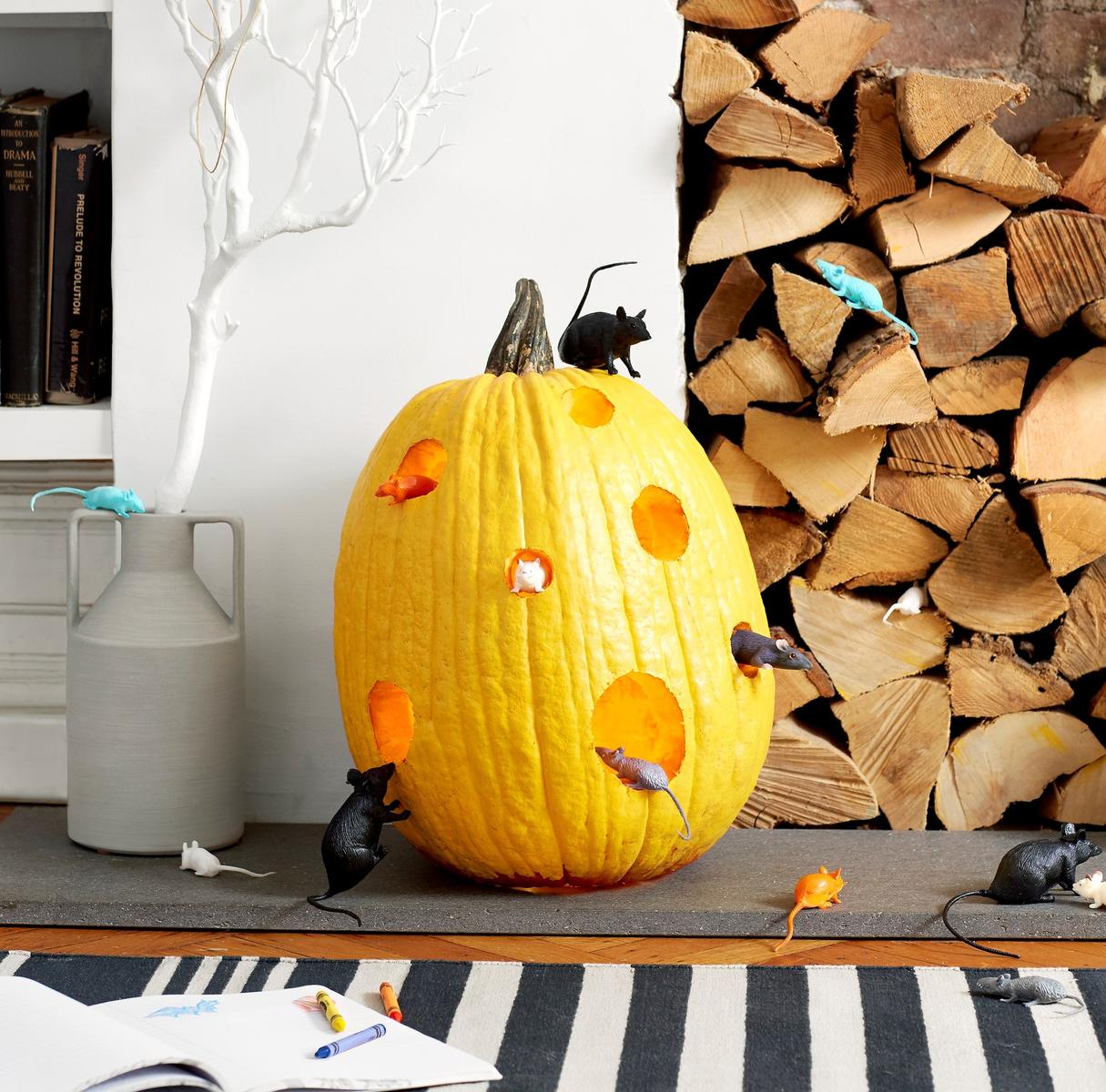 Toy Pumpkin Decorate The Big Cheese