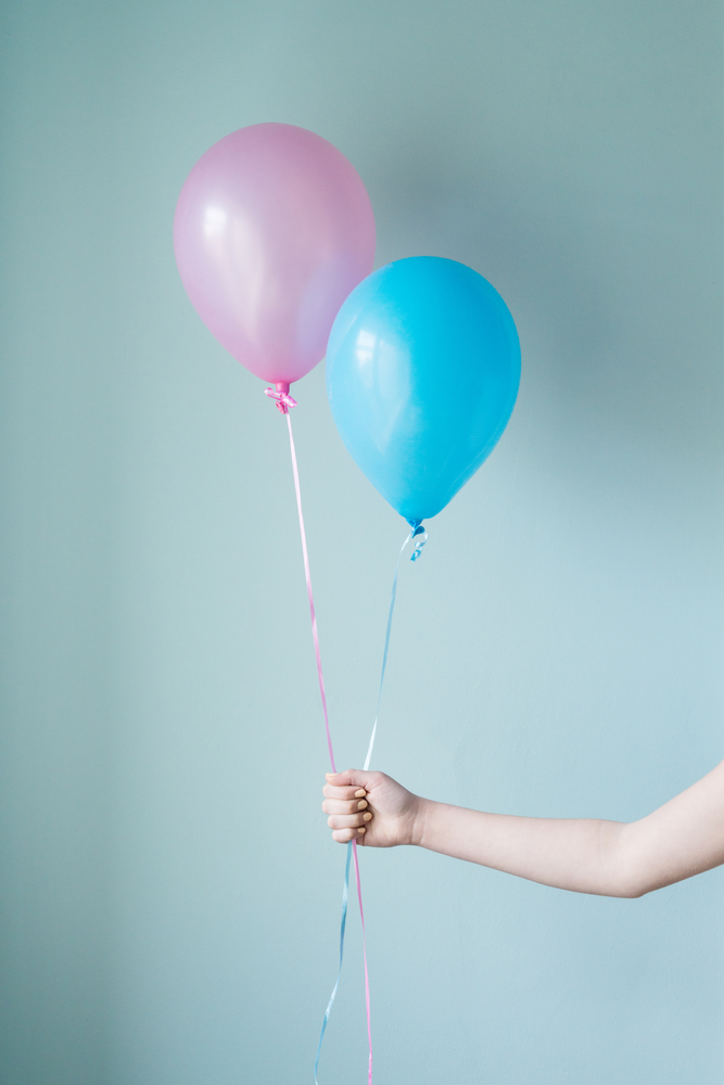 ballon gender reveal