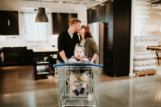IKEA Is the Latest Store to Serve as a Family Photo Shoot Backdrop_still