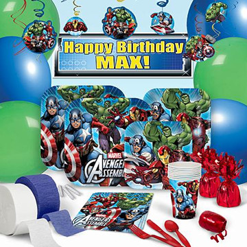 Avengers Ultimate Party Pack