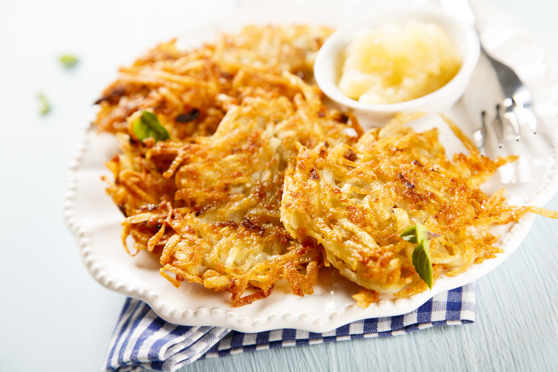 Holiday Apple Latkes