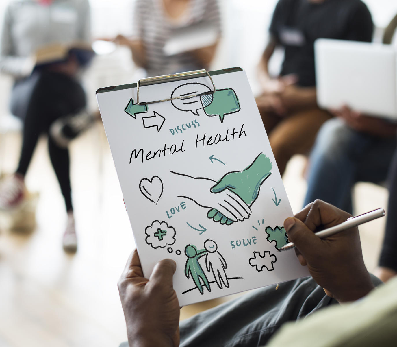 Mental health class should be as standard as sex-ed